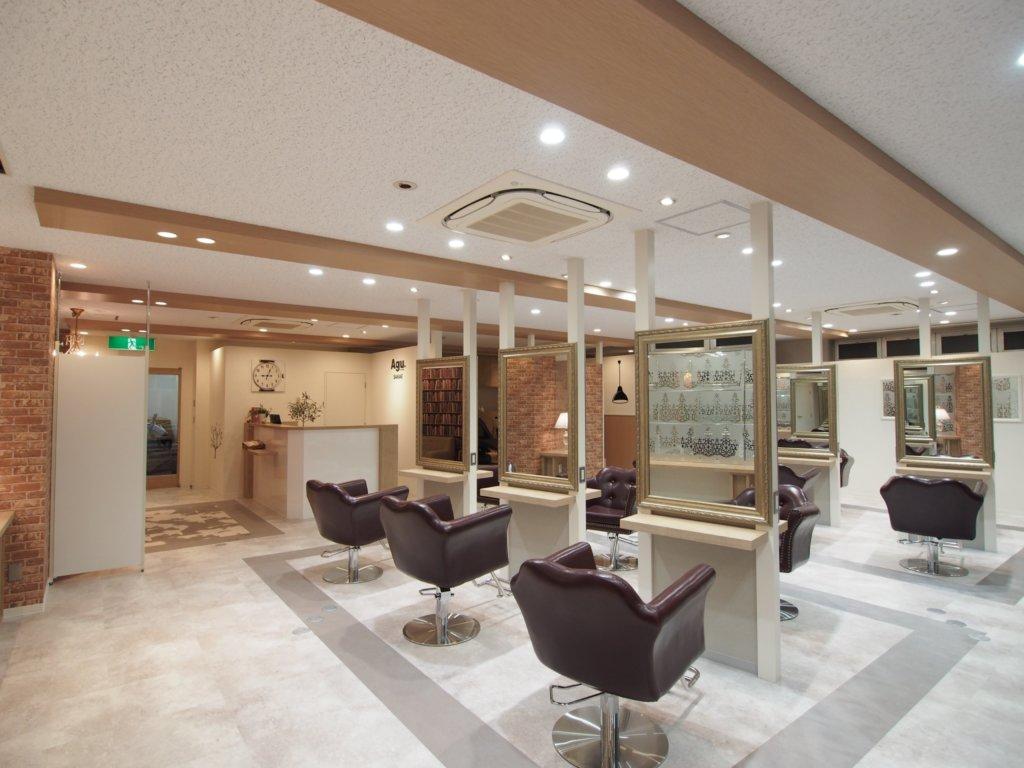 名古屋市中区美容室Agu