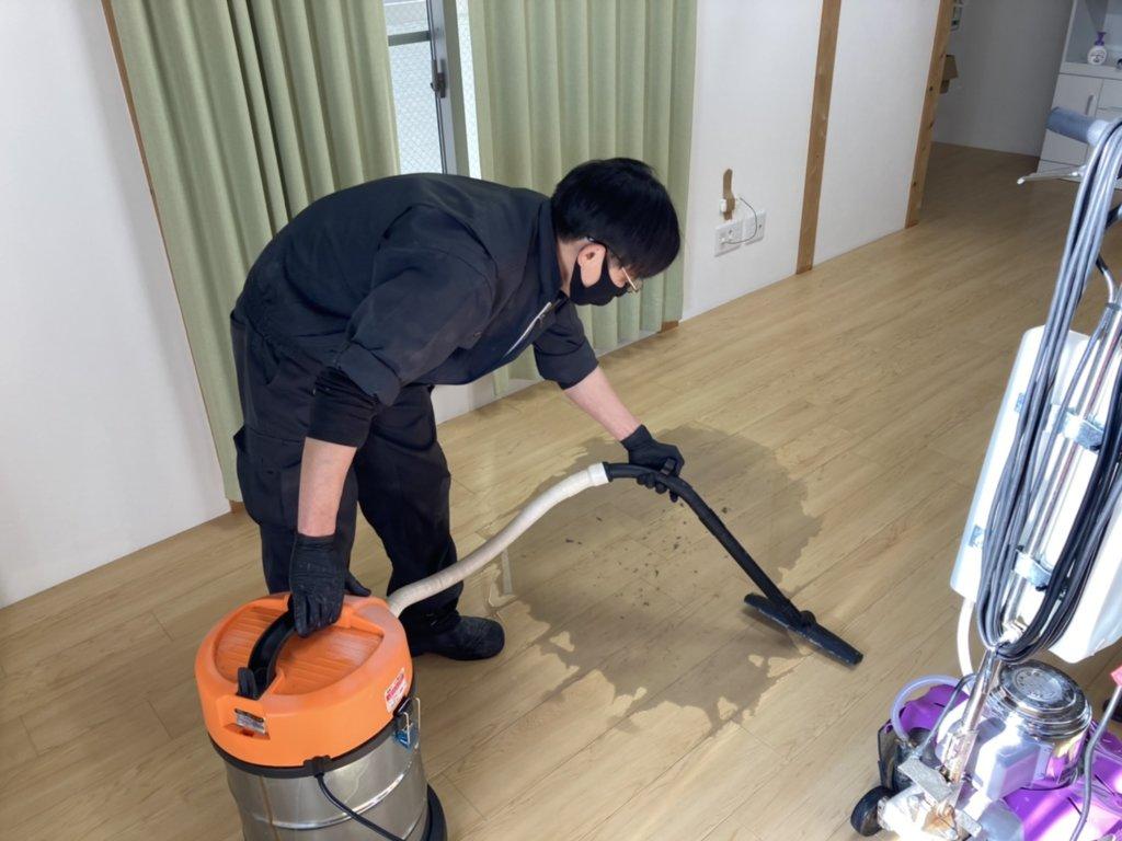 天白区デイサービスの清掃