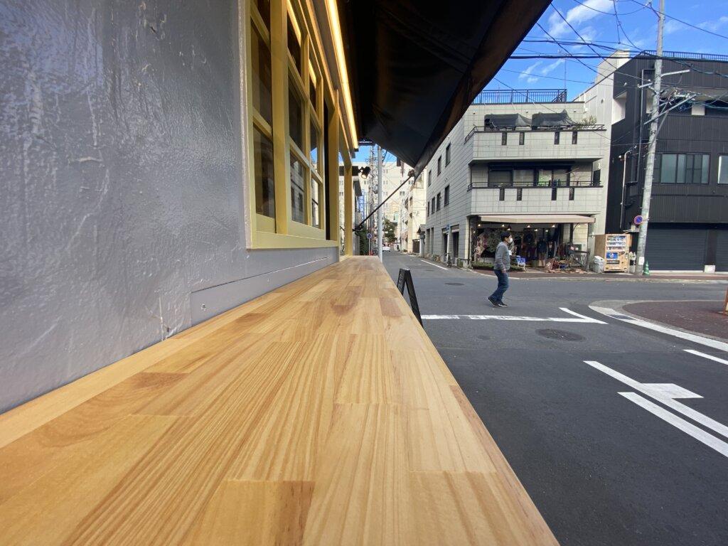 名古屋市中区大須のカフェ外装工事完工