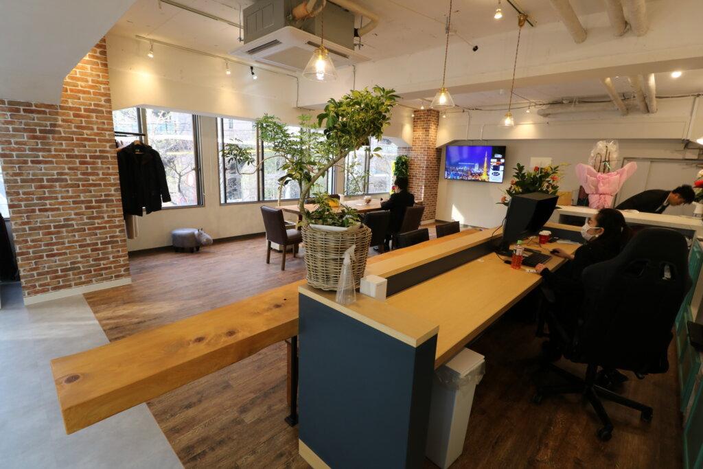名古屋市東区葵のフォトスタジオ内装工事
